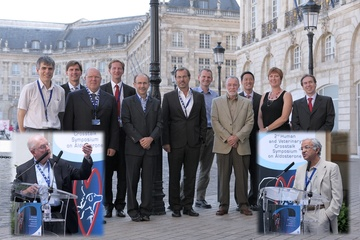 Speaker and Chairs at 2nd human and Veterinary Crosstalk Symposium on aldosterone , Bordeaux 2011