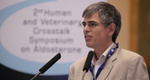Jonathan Elliot Chair 2nd Human and Veterinary Crosstalk Symposium on Aldosterone, Bordeaux 2011